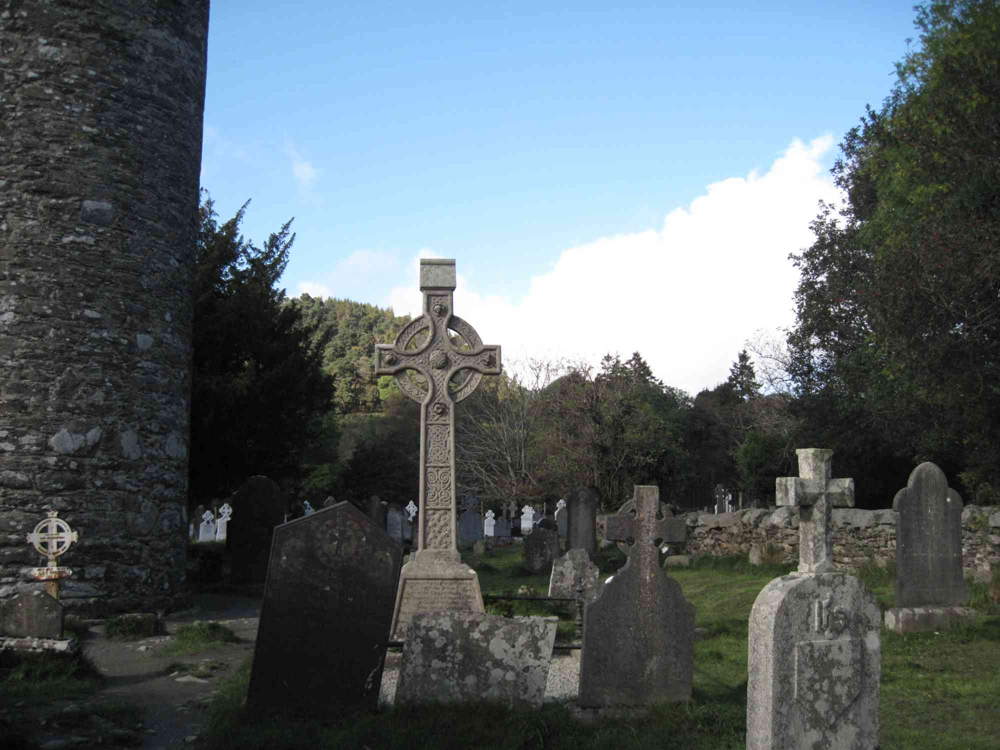 Graves at Glendalough