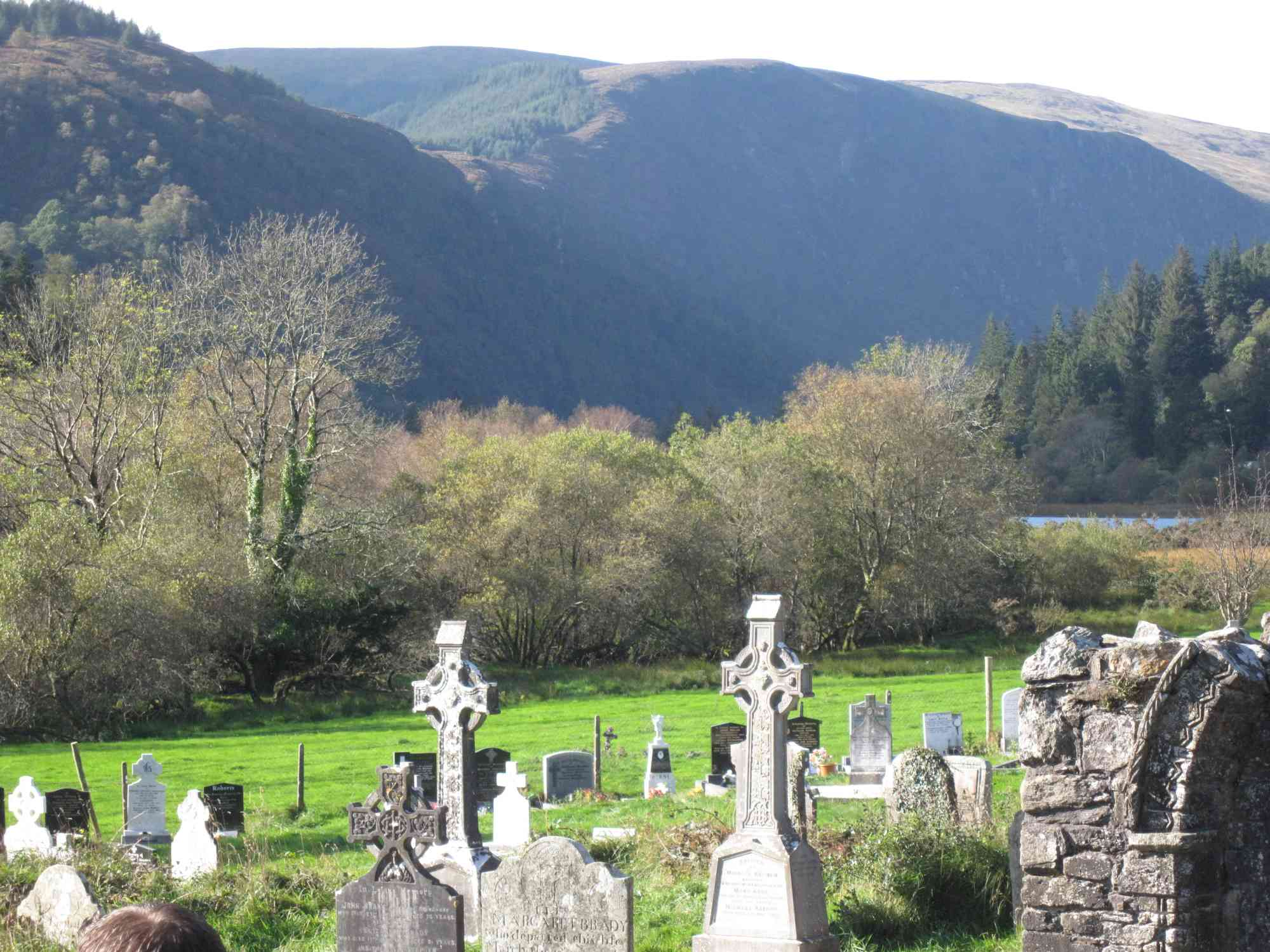 Mountains beyond Glendalough