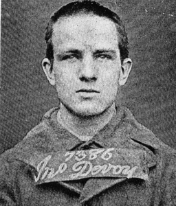 John Devoy as a young man
